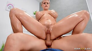 Alix Lynx hops on top of the stud and goes for a wild dick ride