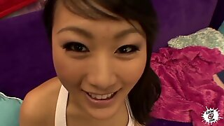 Cute Asian f ucked POV