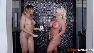 Mom and Daughter love bald pussy- Blair Williams and Alura Jenson