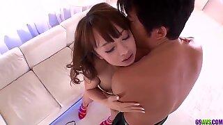 sensuous pornography have fun in doggy scenes for nude Hazuki Okita - More at 69avs com
