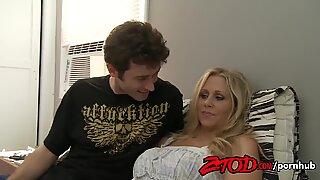 ZTOD - super-hot cougar Julia Ann Fucks Young guy
