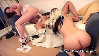 Faye and Sandie finger and toy Sarah Wright