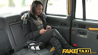 FakeTaxi Local girl fucks for a free ride