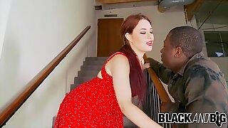 Black and Big - Jessica Ryan IR Creampie