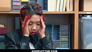 ShopLyfter - sizzling Asian Mom and Daughter jizm douche