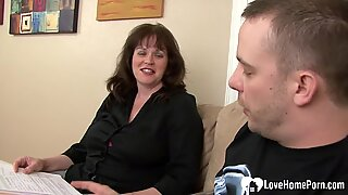 plump cougar wants his bone inside of her