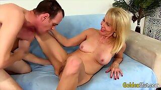 Golden Slut - Mature Blondes Comp 5