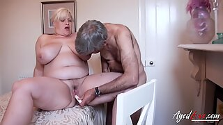 AgedLovE Mature Fingered and Fucked Hardcore