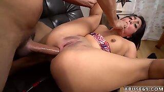 Homemade rough throat fuck xxx Rough assfuck romp for Lexy Bandera s birthday