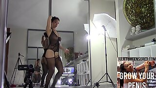 BURP @2:20 diminutive chinese Girl with Perfect Body & Natural bumpers