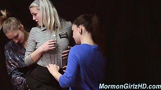 Teen mormon finger fuck