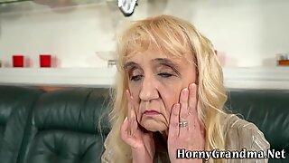 Grandmother sucking dick