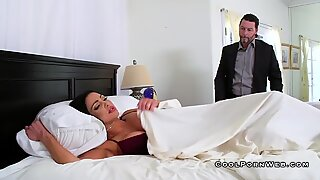Audrey riding big dick in the morning